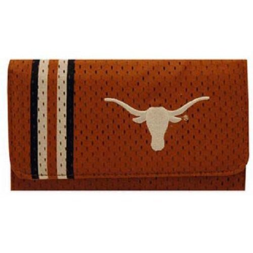Texas Longhorns Women's Mesh Checkbook Wallet at Amazon.com