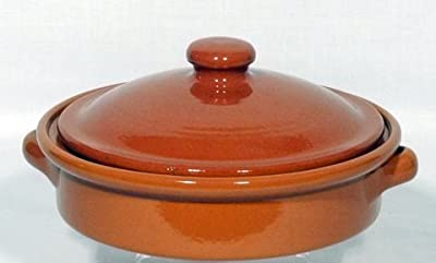 Genuine Terracotta 25cm Dish With Lid - Classic Colour by Be-Active