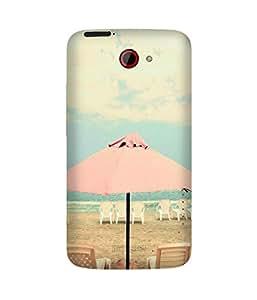 Pink Umberella HTC One X Case
