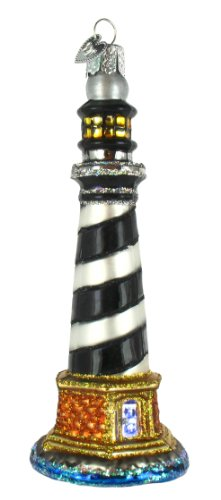 Old World Christmas Cape Hatteras Lighthouse Ornament