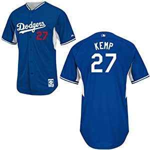 Matt Kemp Los Angeles Dodgers Royal Batting Practice Jersey by Majestic by Majestic