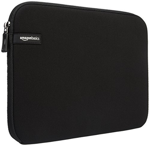AmazonBasics 7-Inch Kindle Fire Tablet Sleeve Case (Color: Black, Tamaño: 7 Inch)