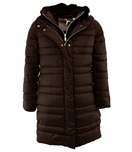 GATEPORT BMAT809 Geo Spirit Piumino d'oca Marrone 42 Donna