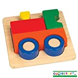 Guidecraft Primary Puzzles (Train)