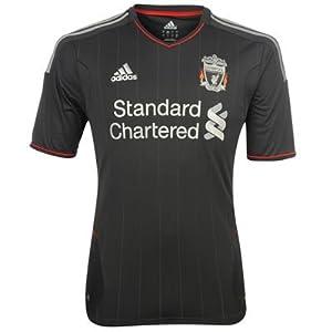 Adidas Liverpool Away Shirt 2011 2012 Junior Smoke 7-826-28
