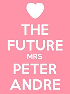 The Future Mrs Peter Andre Keyring - 5cm x 3.5cm