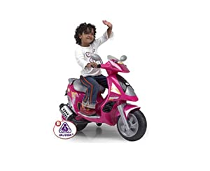 Duo 6v Pink Toy Scooter