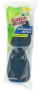 Scotch-Brite Non-Scratch Dishwand Refill 483-7-RSC, 2-Count (Pack of 7)
