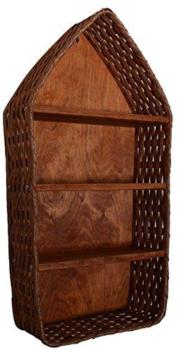 AMISH WARES Nautical Boat Basket Shelf