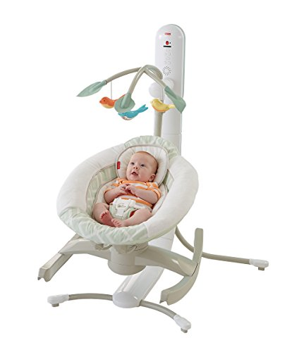 Fisher-Price 4 Motion Cradle 'n Swing with Smart Connect (Fisher Price Swing Girl compare prices)