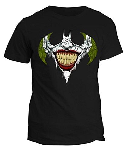 Tshirt Joker Smile Batman- super eroe the dark night - maglietta uomo donna bambino