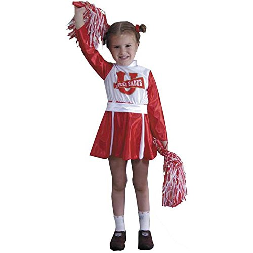 Toddler Spirit Cheerleader Costume (Size: 2-4T)