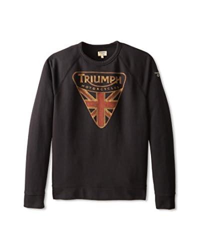 Lucky Brand Men's Triumph Badge Crew Sweatshirt