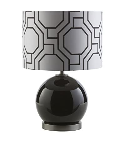 Surya Bowen Table Lamp, Black