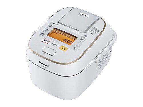 パナソニック Wおどり炊き 可変圧力IHジャー炊飯器 5.5合 スノークリスタルホワイト SR-PW106-W
