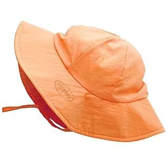 i play. Brim Newborn Sun Protective Hat, Orange, 0-6 Months