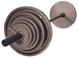 USA Sports OSS-300B 300 lb. Olympic Weight Set by Troy USA Sports