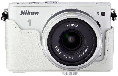 Amazon.co.jp限定Nikon デジタル一眼カメラ Nikon1 J3+11-27.5ズームセットA WH N1J3+11-27.5WHZKA