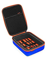 XSories Small Universal Capxule Soft Case for All Compact Digital, GoPro, Action Sports Cameras (Blue)