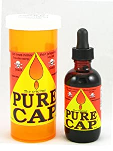 Pure Cap Hot Sauce by AmericanSpice.com