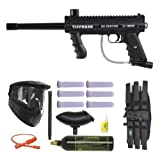 Tippmann 98 Custom Paintball Marker Gun 3Skull Super Mega Set
