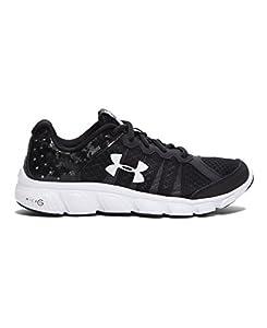 Under Armour Big Boys' Grade School UA Micro G® Assert 6 Running Shoes 4 Black