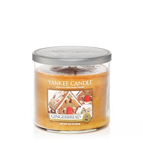 Gingerbread 12.5oz 2 Wick Medium Tumbler Jar Yankee Candle
