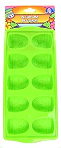 Luau Ice Cube Tray Tiki Shapes Mold - 2 Pack