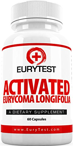 EuryTest Male Enhancement Supplement - Longjack Tongkat Ali Extract 100:1, Sex Drive Enhancer & Libido Sexual Support, Highly Rated Natural Testosterone Booster Formula (60 Capsules) (Eurycoma Longifolia Extract compare prices)