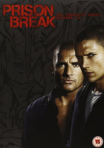 Prison Break-Series 1-4-Complete [Edizione: Regno Unito]