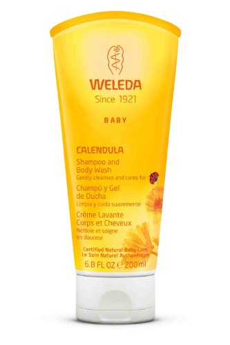 Weleda Baby Calendula Shampoo and Body Wash -- 6.8 fl oz