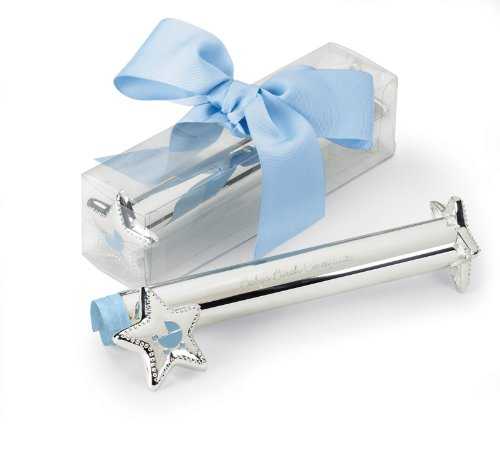Mud Pie Baby Little Prince Silver Birth Announcement Holder