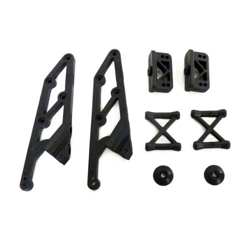 Iron Track Atomik RC Wing Stay and Mount Set for Iron Track Ziege 4WD Brushless RC Truggy Vehicle - 1