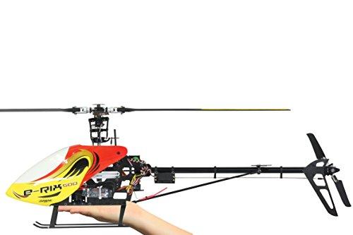 Elicottero 500 : Jamara e rix carbon rtf elicottero gas a