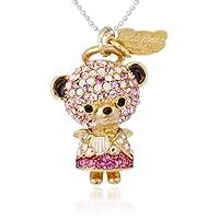 [テディベア] Teddy Bear ペンダント&ストラップ 天使シリーズ 姉 カラー:ピンク(PK) Teddy-021PK