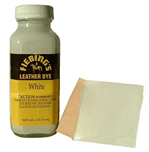Fiebing's Leather Dye White 4 oz 2100-19 from Fiebing's Company