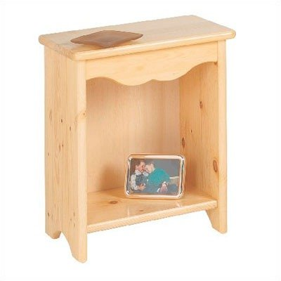 Little Colorado Toddler Bedside Stand, White
