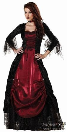 Elite Collection by InCharacter Costumes Gothic Vampiress Adult Costume – Size XL