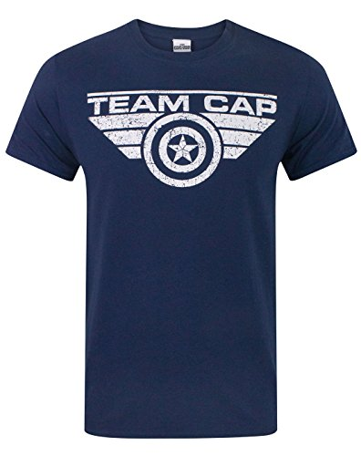 Uomo - Vanilla Underground - Captain America Civil War - T-Shirt (S)