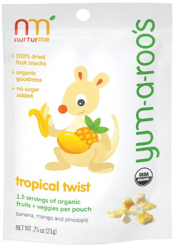 NurturMe Yum-a-Roo's Tropical Twist Baby Snack
