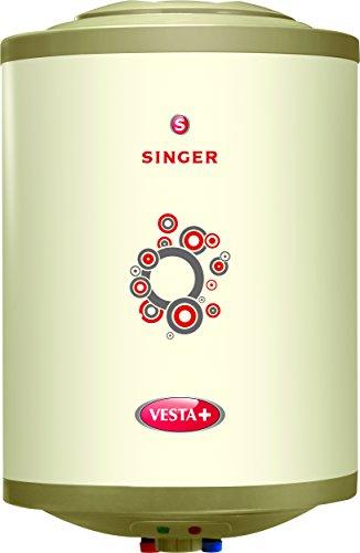 Singer Vesta Plus 2000 Watts Glass Line Storage Water Heater 15 Litre