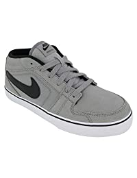 Nike Men's NIKE RUCKUS MID LR CASUAL SHOES 9 (MEDIUM GREY/BLACK/WHITE)