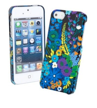 Special Sale Vera Bradley Snap on Case for Iphone 5 in Midnight Blues