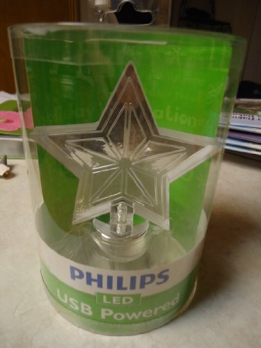 Philips Usb Powered Color Changing Star