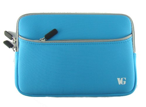 Christmas Light Blue Carrying Case for Notebook 7