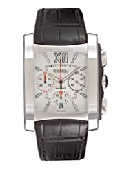 Ebel Men's 9126M52/64BR351 Brasilia Silver Chronograph Dial Watch