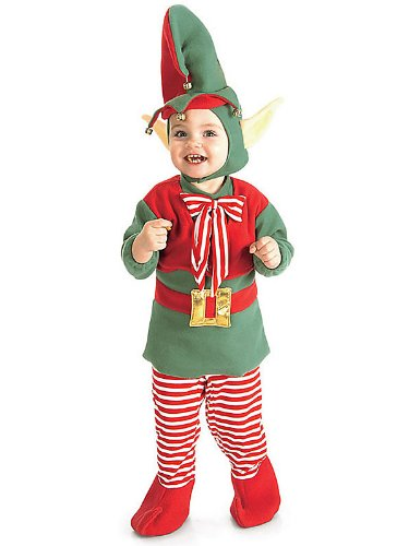 Infant/Toddler Merry Christmas Elf Costume