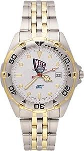 New Jersey Nets Mens All Star Watch Stainless Steel Bracelet by Logo Art