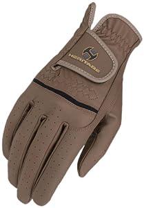 Heritage Premier Show Glove, Brown, Size 6
