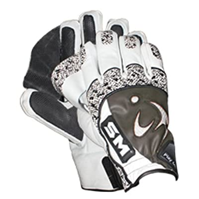 SM Indoor Batting Gloves (White/Brown)